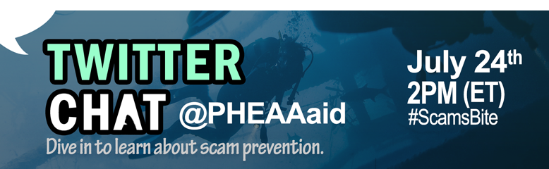 Live Twitter Chat at PHEAA aid